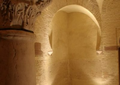 Interior de la Torre de Garci Méndez