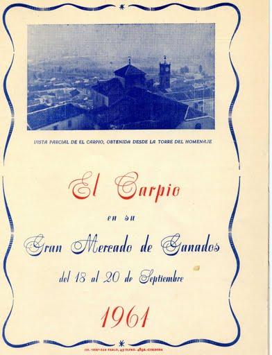 El Carpio 1961