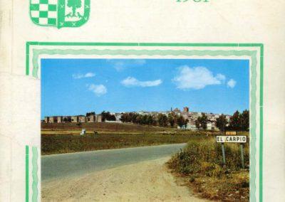 El Carpio 1981