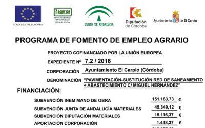 Programa de Fomento del Empleo Agrario 2015