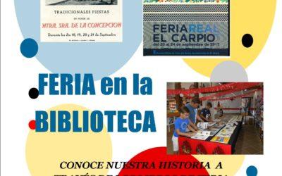 Exposición Libros de Feria 2018