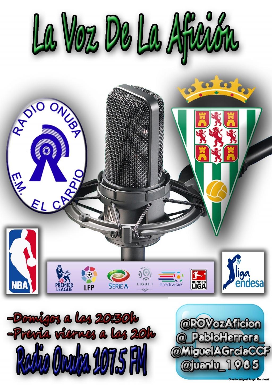 Cartel de radio Onuba