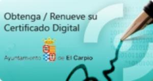 Enlace obtención del certificado digital