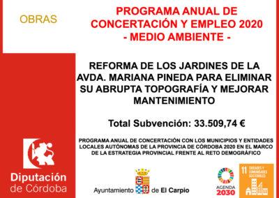 PROGRAMA ANUAL DE CONCERTACIÓN Y EMPLEO 2020
