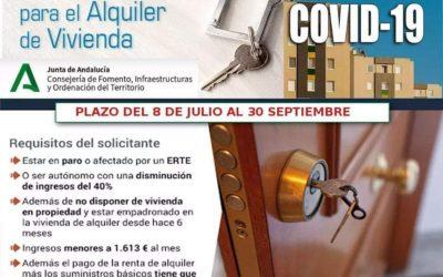 Ayudas Alquiler COVID-19