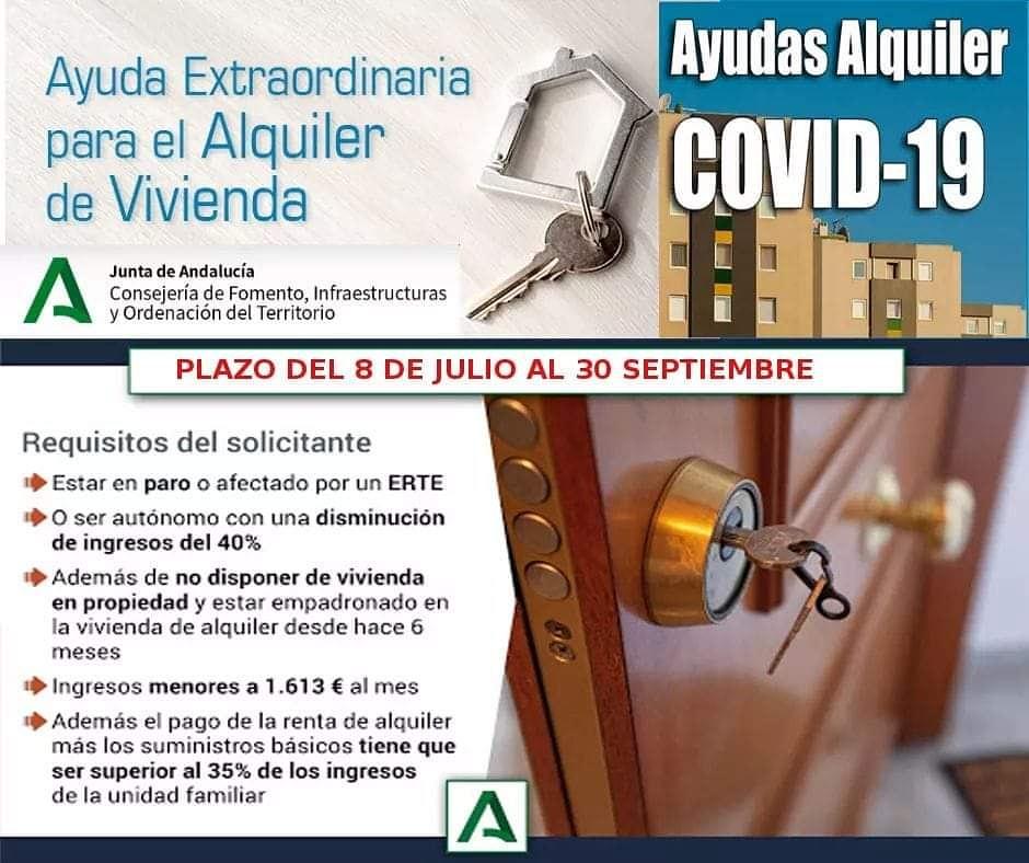 AYUDA EXTRAORDINARIA ALQUILER DE VIVIENDA
