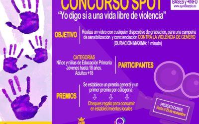 CONCURSO SPOT – «Yo digo sí a una vida libre de violencia»