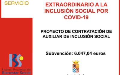 PROGRAMA DE APOYO EXTRAORDINARIO A LA INCLUSION SOCIAL POR COVID-19