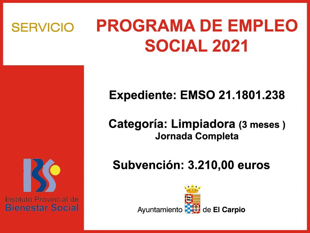 EMPLEO SOCIAL 2021