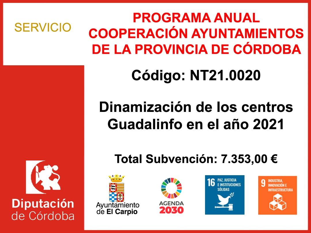 Dinamización Centros Guadalinfo 2021