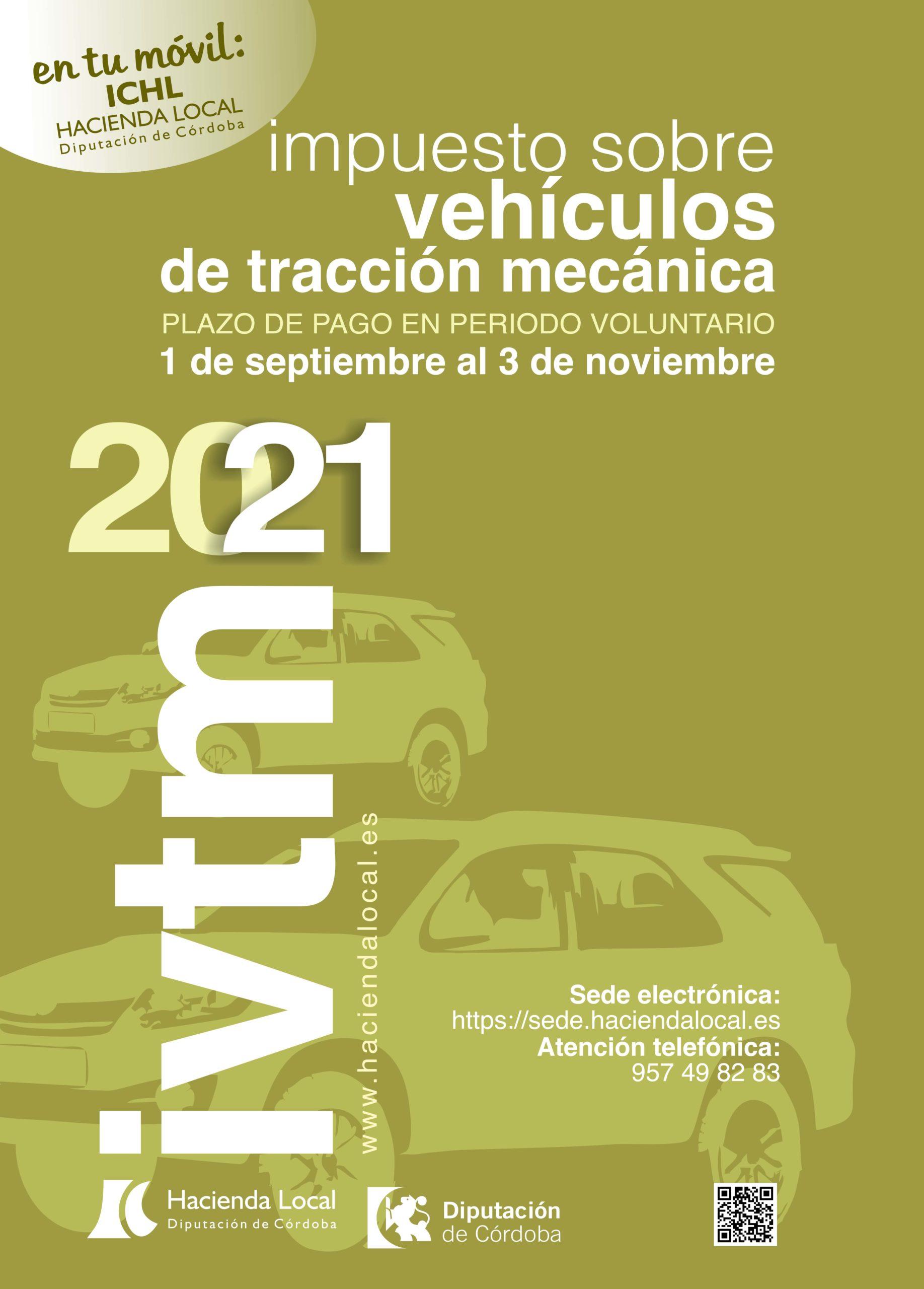 Hacienda Local - Impuesto sobre vehículos de tracción mecánica